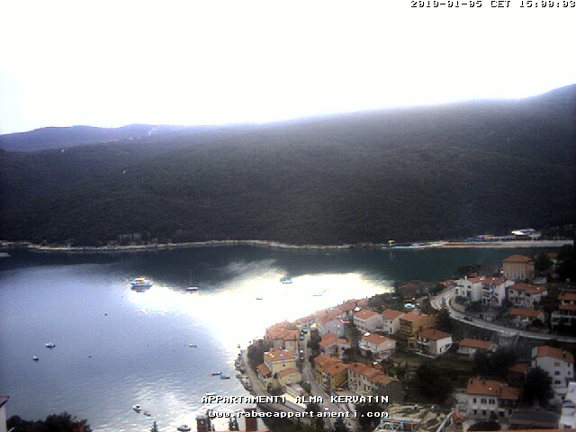 Webcam Rabac - Appartamenti Alma Kervatin